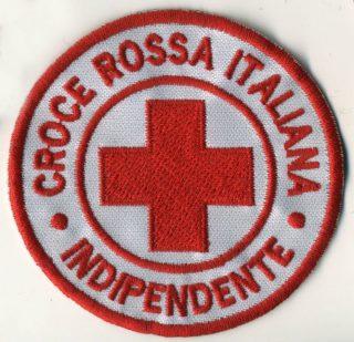 Toppa Croce Rossa - Indipendente