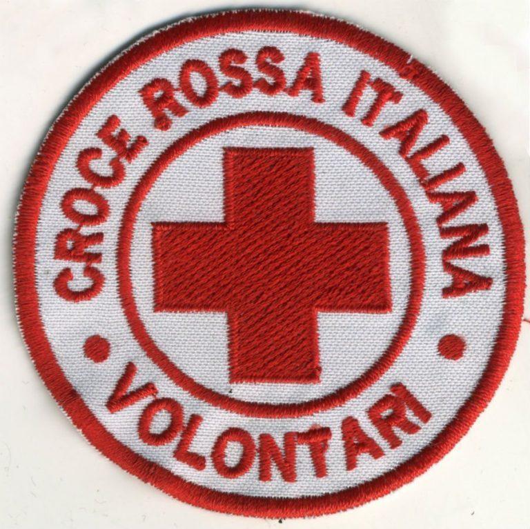 Toppa Croce Rossa - Volontari