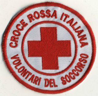 Toppa Croce Rossa - Volontari del soccorso