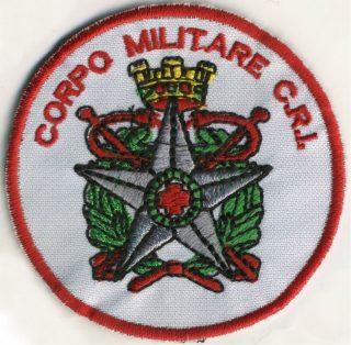 Toppa Corpo Militare C.R.I.