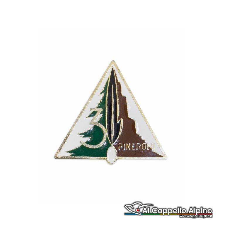 111 40 Distintivo Battaglione Alpini Pinerolo Anteguerra 1938