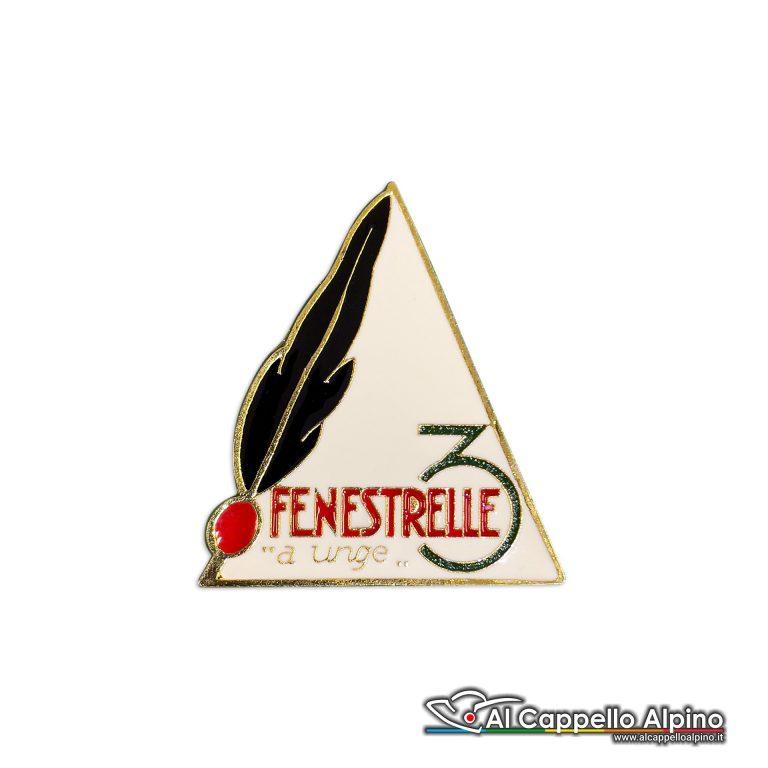 92 17 Distintivo Battaglione Fenestrelle Anteguerra 1940