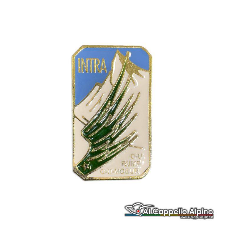 96 23 Distintivo Battaglione Alpini Intra Anteguerra 1937