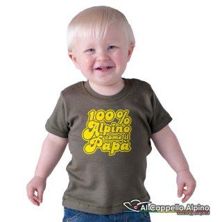 Acn0001 T Shirt 100 Alpino Come Papa