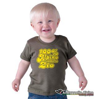 Acn0001 T Shirt 100 Alpino Come Zio