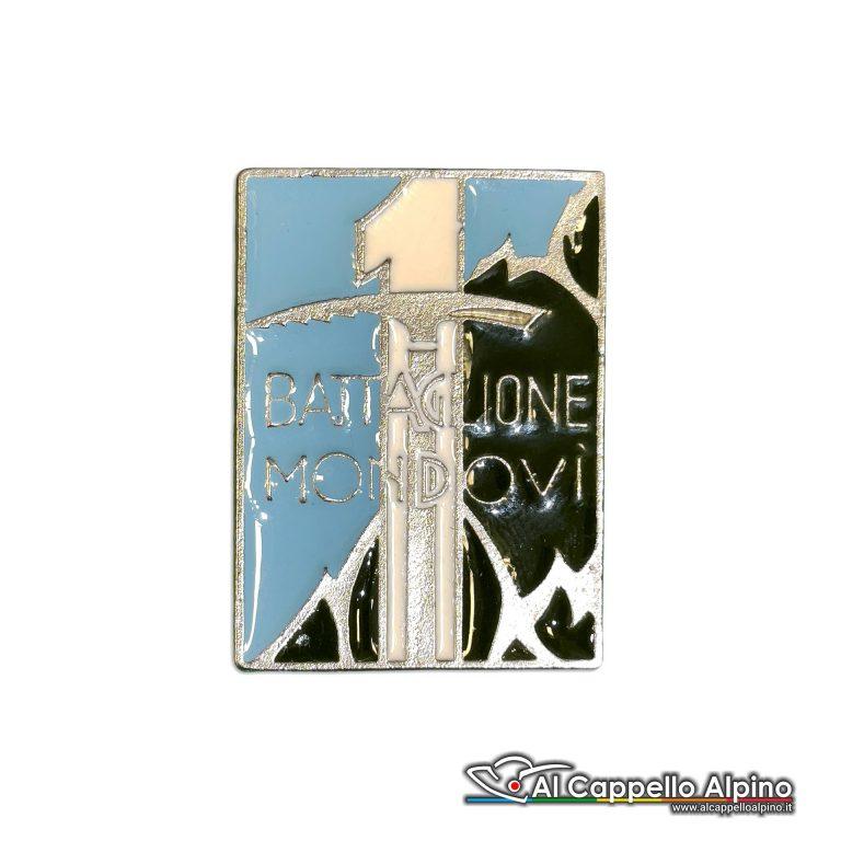 102 31 Distintivo Battaglione Alpini Mondovi Anteguerra 1937