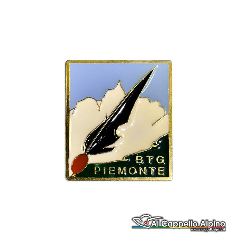 105 34 Distintivo Battaglione Alpini Piemonte Anteguerra 1944