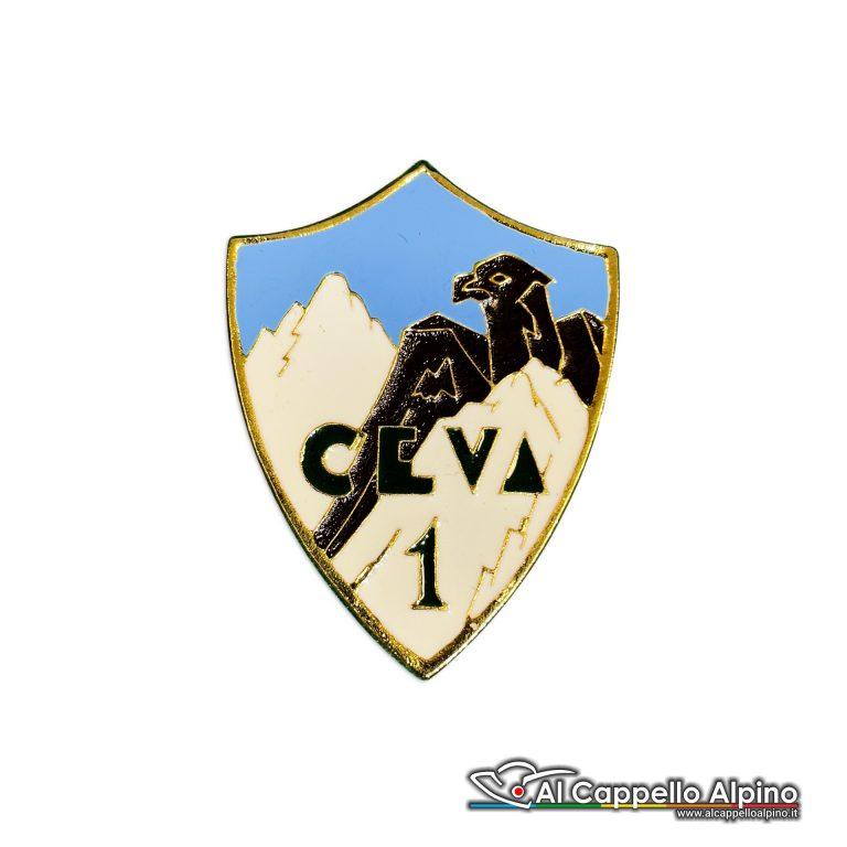 81 7 Distintivo Battaglione Alpini Ceva Anteguerra 1940