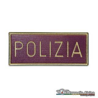 Ps104 Patch Polizia Di Stato Tuta Operativa Pvc