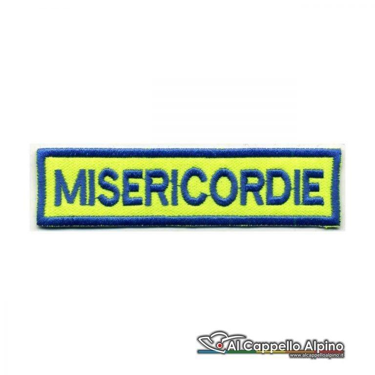 Topno0130 Patch Nome Misericordia Personalizzato