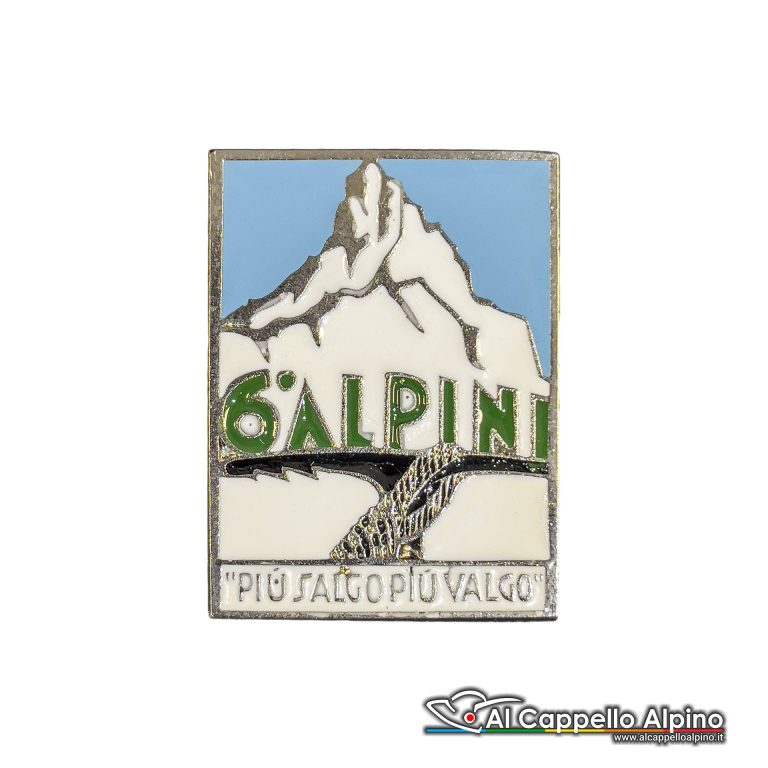 63 11 Distintivo 6 Reggimento Alpini Anteguerra 1937