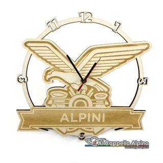 Orologio Da Parete Personalizzato Alpini
