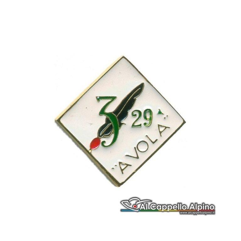"""Distintivo Anteguerra 29 cp. Btg. Fenestrelle """"A Vola""""-0"""