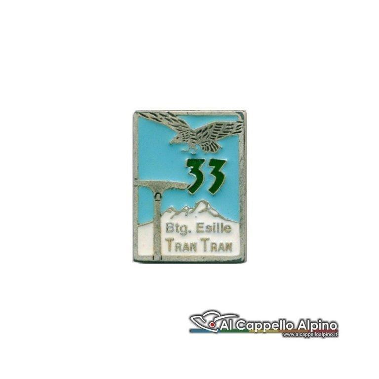 """Distintivo Anteguerra 33 cp Btg. Esille """"Tran Tran""""-0"""