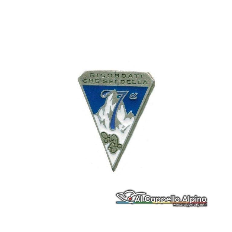 Distintivo Anteguerra 7 Cp. Btg. Intra-0