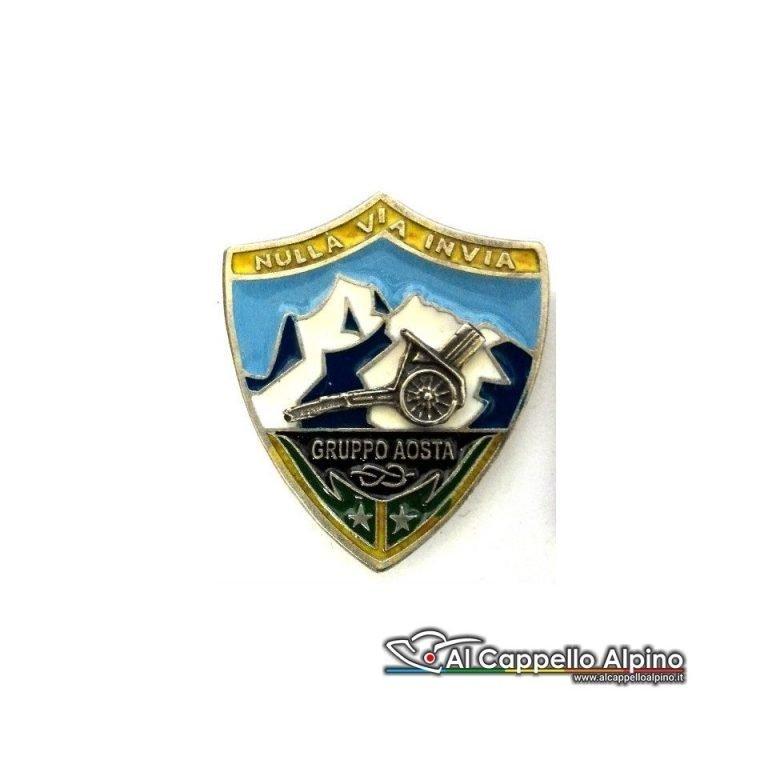 Distintivo Anteguerra gruppo Aosta-0