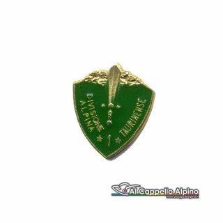 Distintivo Anteguerra 1° Div. Alpina Taurinense -0