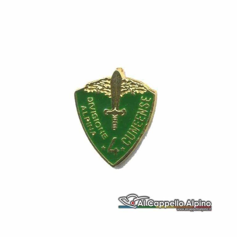 Distintivo Anteguerra 4° Div. Alpina Cuneense-0