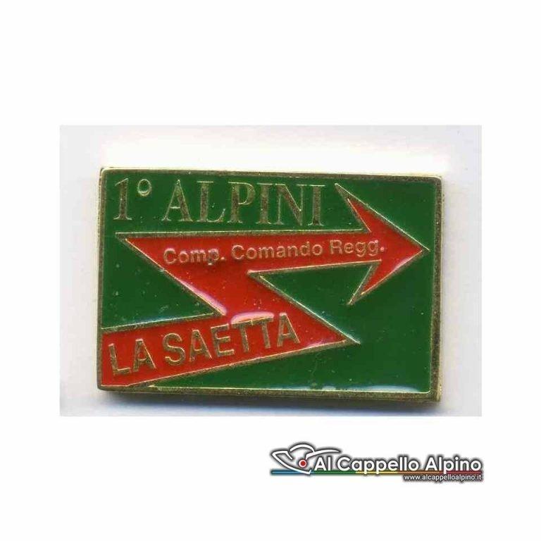 Distintivo Anteguerra cp. cmd. regg. 1 rgt. Alpini-0