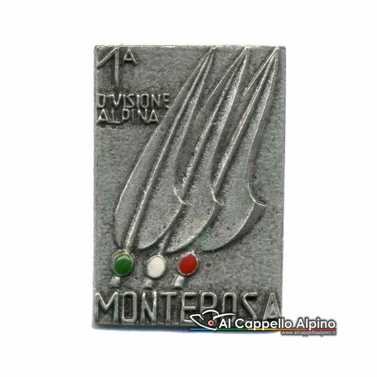 Distintivo Anteguerra 1° div. Monterosa arg.-0
