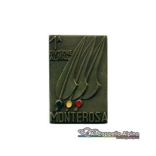 Distintivo Anteguerra 1° div. Monterosa bron.-0