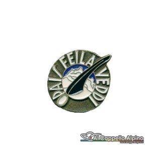 Distintivo Anteguerra 12 cp. btg. Intra (R.S.I.)-0