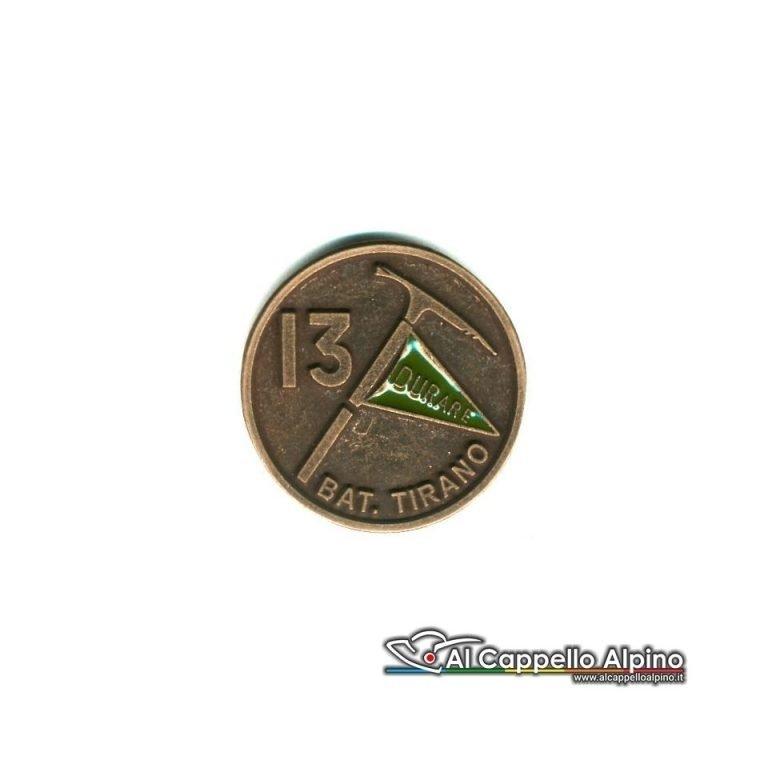 Distintivo Anteguerra 13 cp. btg. Tirano (R.S.I.)-0