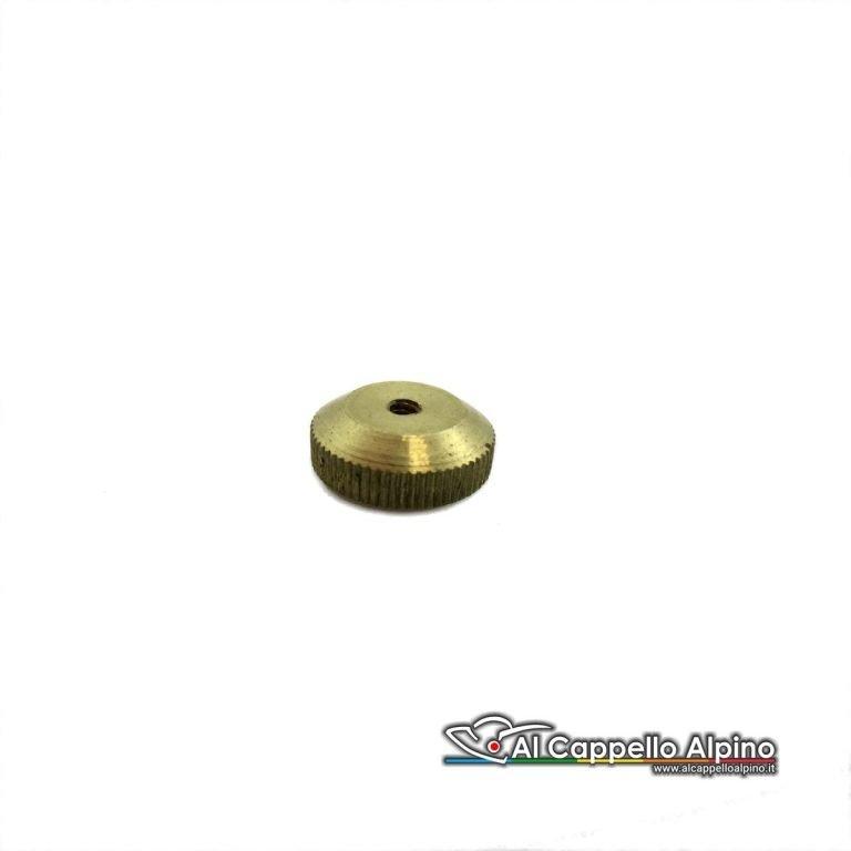F4047 Bottone A Vite Godronato Oro