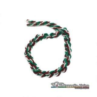 Acca0011 Cordoncino Tricolore Per Cappello Alpino