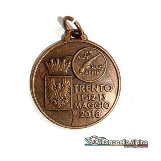 Mead2018 Medaglia Adunata Alpini Trento Fronte