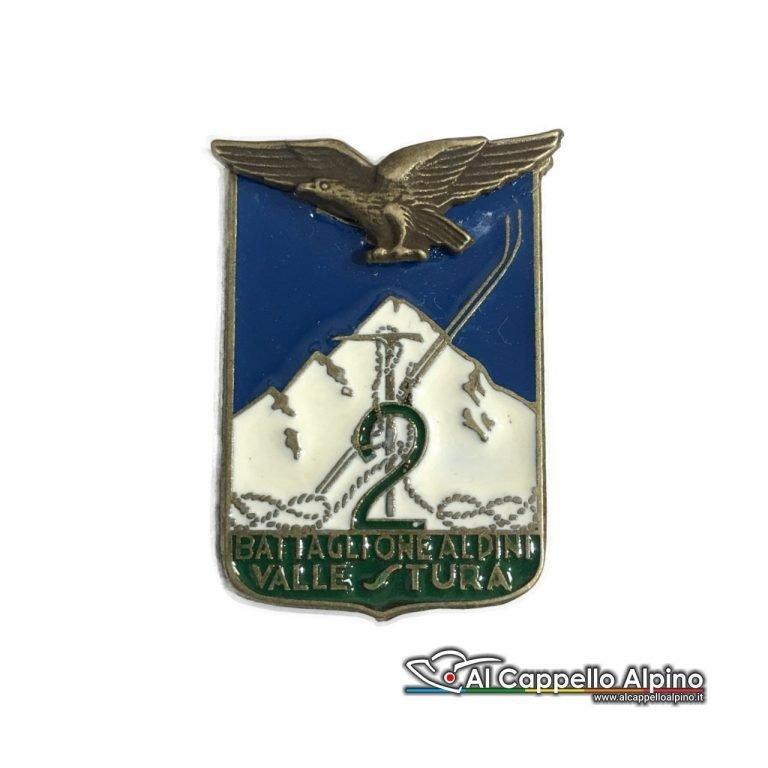 151 32 Distintivo Battaglione Alpini Val Stura