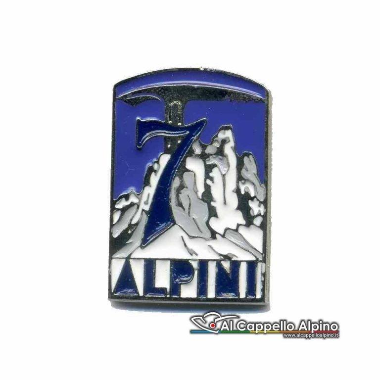 Dma1501 Distintivo 7 Rgt Alpini