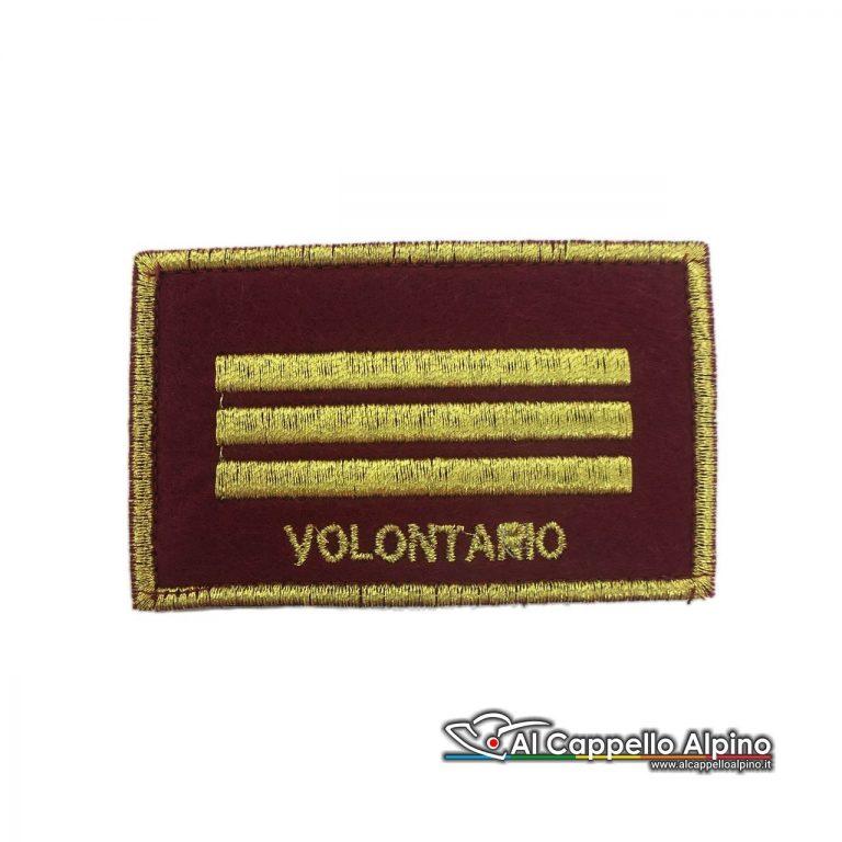 Rgrvf0014 Grado Vigile Del Fuoco Capo Reparto Volontario 8x5
