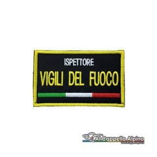 Topvf0003 Toppa Vigili Del Fuoco Personalizzata Con Tricolore Ispettore