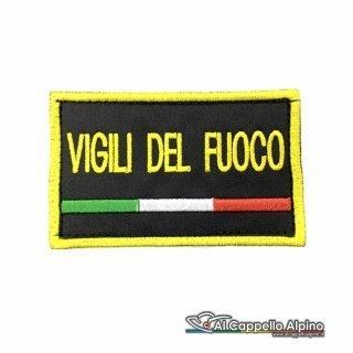 Topvf0003 Toppa Vigili Del Fuoco Personalizzata Con Tricolore Nessuna