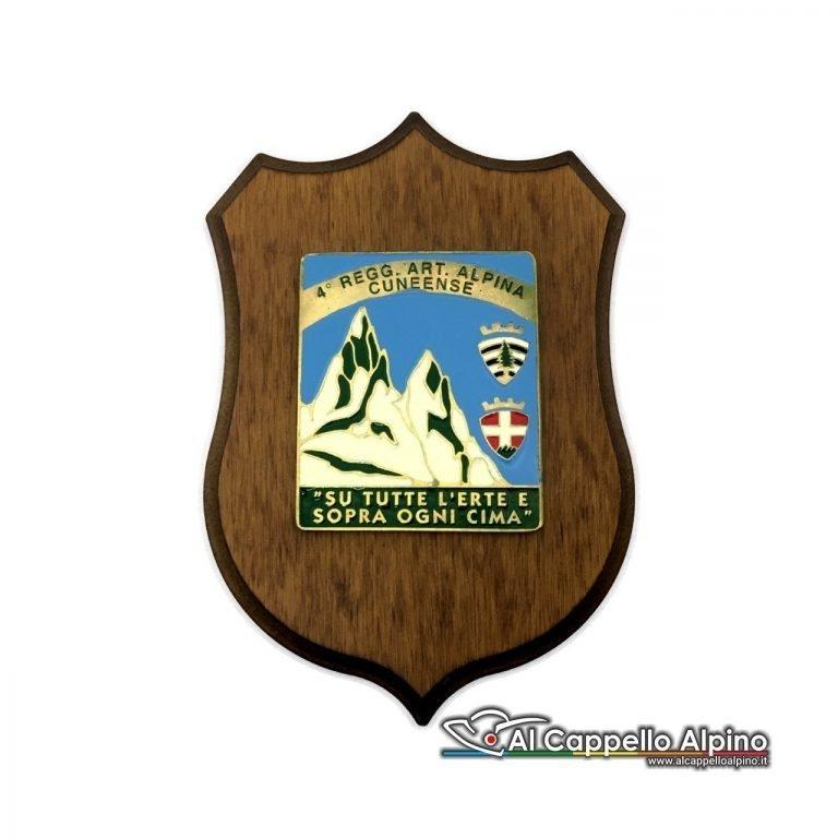 Cresa0163 Crest 4 Reggimento Artiglieria Alpina Divisione Cuneense