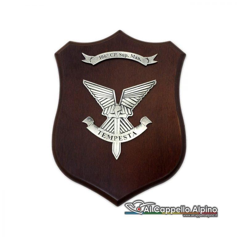 Cresa0176 Crest 106ma Compagnia Armi Sostegno Tempesta