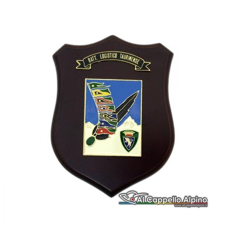 Cresa0178 Crest Battaglione Logistico Taurinense Bandiere