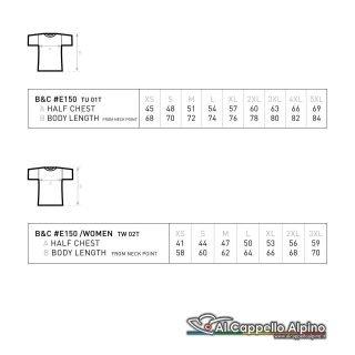 Tabella Taglie T Shirt