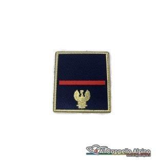 Grado Polizia di Stato Agente Scelto a velcro