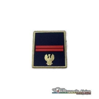 Grado Polizia di Stato Assistente a velcro