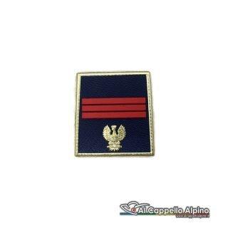 Grado Polizia di Stato Assistente Capo a velcro