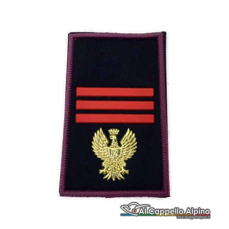Grado Polizia di Stato Assistente Capo tubolare