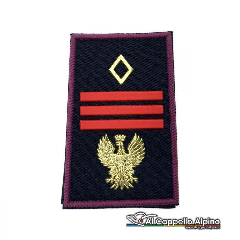 Grado Polizia di Stato Assistente Capo Coordinatore tubolare