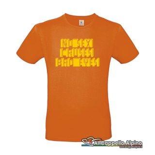 Acts0210 T Shirt No Sex Causes Bad Eyes Arancione