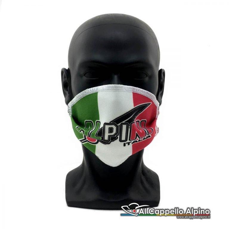 Mascherina facciale Alpini Italia