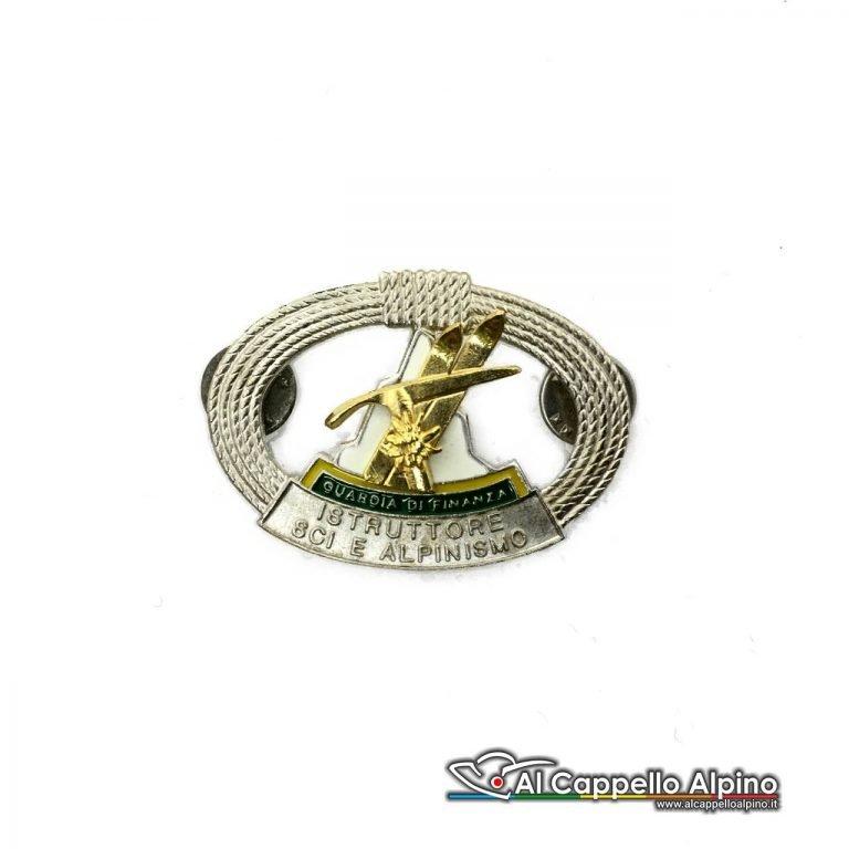 Dgf0017 Distintivo Istruttore Di Sci E Alpinismo Scelto Guardia Di Finanza