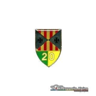 Dgf0120 Distintivo Guardia Di Finanza 20 Legione Vecchio