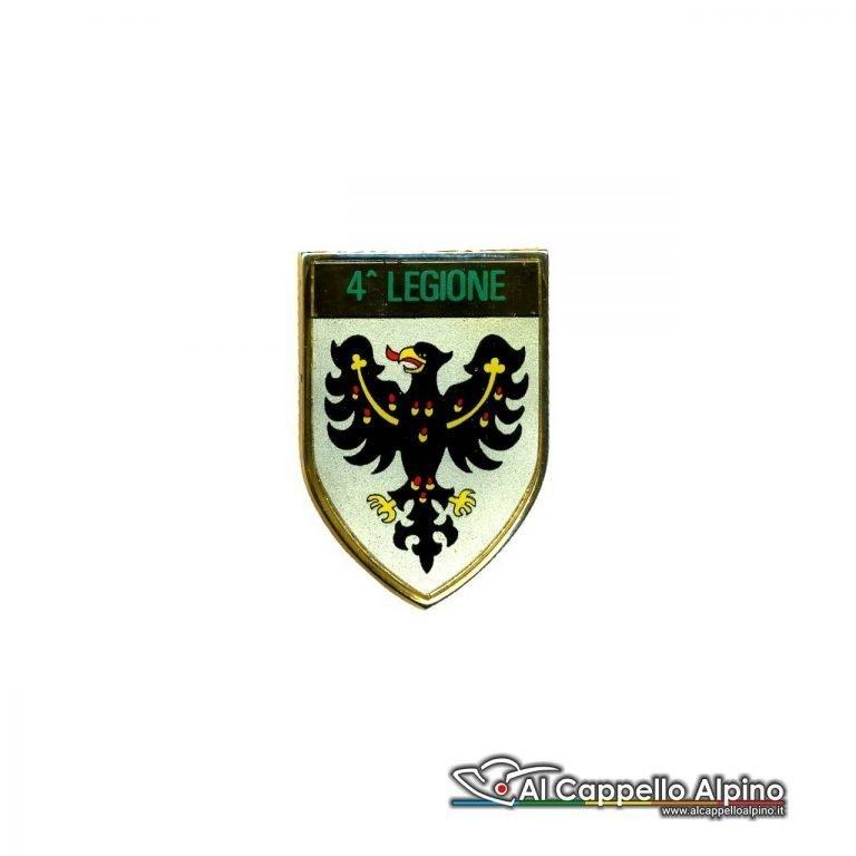 Dgf0204 Distintivo Guardia Di Finanza 4 Legione