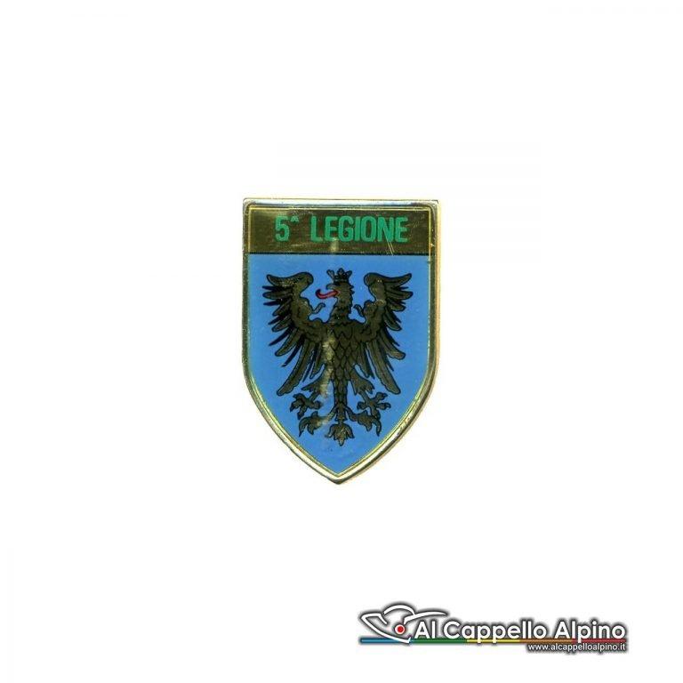 Dgf0205 Distintivo Guardia Di Finanza 5 Legione